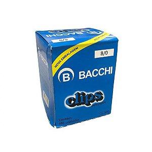Caixa (500g) de Clips 8/0 Galvanizado Bacchi