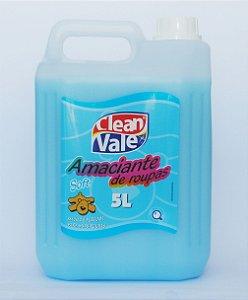 Amaciante de Roupas Soft - Clean Vale (5L)