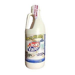 Detergente Limpeza Pesada Cloro Ativo - Clean Vale (1L)