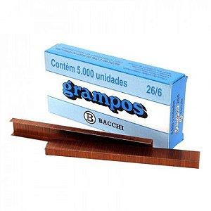 Grampo 26/6 Cobreado c/ 5000 unidades