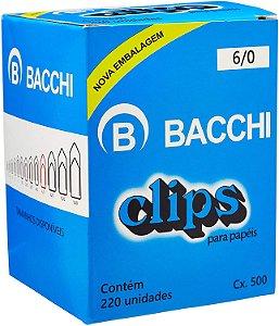Clips Galvanizados 6/0 cx c/ 220un - Bacchi