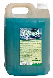 Desinfetante Uso Geral Flash Clean 5L Lavanda