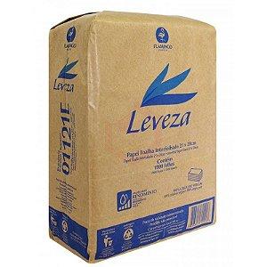 Papel Toalha Interfolhado Leveza 100% Celulose 23X20 1000 Folhas Ref.:1151E