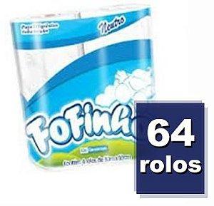 Fardo Papel Higiênico Fofinho Folha Simples 4x30mx16 Ref.: 1013