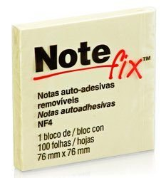 Post-it Recado Adesivo Notefix 76x76mm c/100 Ref.: 654