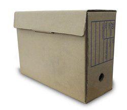Arquivo Morto Papelão 34x13x24cm Pequena