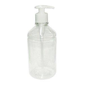 Dispenser p/ Sabonete/Álcool Gel de Pia c/ Pump