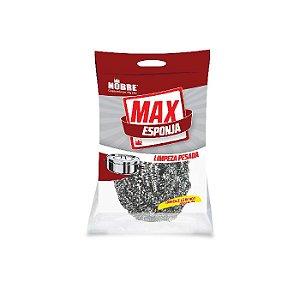 Esponja de Aço Inox Max Esponja Limpeza Pesada Nobre