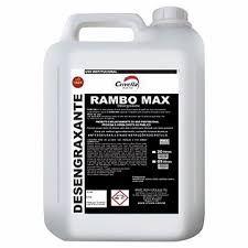 Detergente Desengordurante Alcalino 1:100 Rambo Max 5L