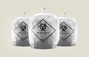 Saco de Lixo Infectante Hospitalar 15L 39X58cm c/100un 0718-0