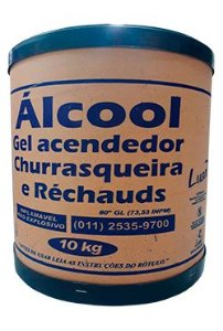 Alcool Gel 80 INPM Barrica 10kg