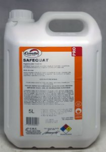 Higienizador Quaternário de Amônia Safequat 1:200 5L