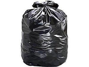 Saco para Lixo Preto 40L