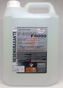 Detergente Desengraxante com Amoníaco F4000 1:50 5L