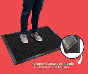 [Kit 2 Peças] Tapete Sanitizante p/ Pedilúvio 40x60cm + Tapete Secante