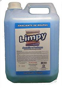 Amaciante de Roupas Limpy 5L
