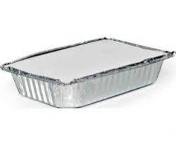 Embalagem de Aluminio 1150ml T170 c/ Tampa c/ 100