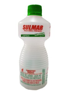 Álcool Líquido 46º Sulmar 500ml