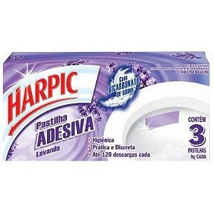 Pastilha Adesiva Harpic c/ 3un