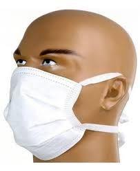 Máscara Descartável Dupla com Elástico c/100un