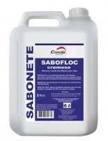 Sabonete Cremoso Antisséptico Sabofloc 5L