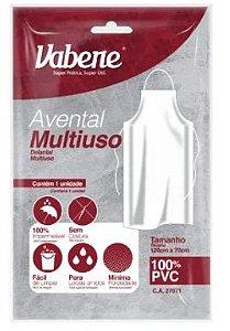 Avental Multiuso Vinil Branco 110x70cm