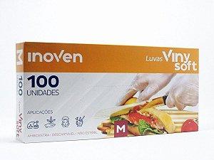 Luva Descartável Vinysoft c/100 P