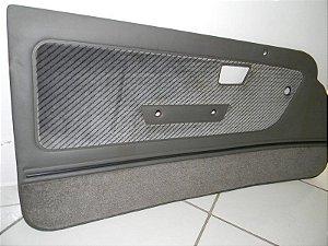 Forro de Porta Linha GL cinza aveludado/navalhado - Novo Original