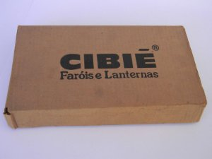Lente Farol Gol GTS Cibie Assimetrico Lado Esquerdo 26cm