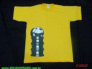 Camiseta Roda Orbital Amarela