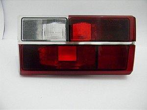 Lanterna Gol 86 Rubi Vermelha Ré Branca Friso Cromado Direita ORIGINAL VW
