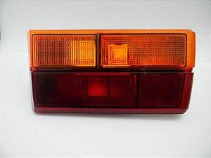 Lanterna Gol 86 Bicolor Laranja/Vermelha Ré Laranja Sem Friso Direita POLIMATIC