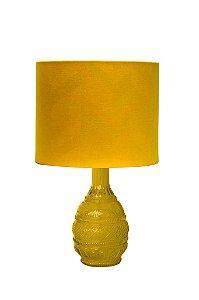 Abajur Amarillo Majestic