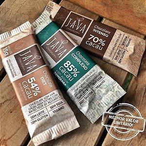 Chocolate zero lactose 15 gramas - CAIXA com 30 tabletes - ESCOLHA