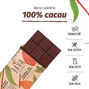 Barra de chocolate ORGÂNICO 100% CACAU 1kg- Cacau bean to bar da Bahia