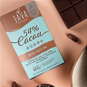 Chocolate DIET 54% CACAU - 1 tablete de 80g