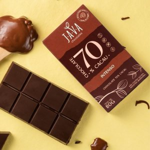 CHOCOLATE 80 G - 70% CACAU INTENSO
