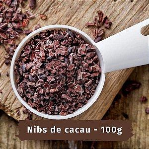 NIBS de cacau bean to bar - 100 g - Sem glúten, sem leite e sem soja