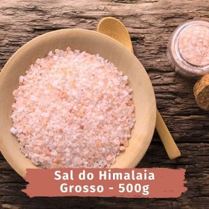 EMPORIO SAL do himalaia GROSSO - 500g  NA PALMA