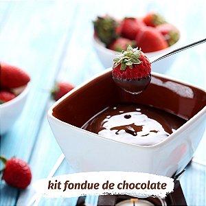 KIT Fondue Vegano para 4 PESSOAS - Faça fondue vegano em casa!