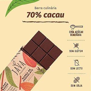 barra de chocolate 70% cacau INTENSO - 1,010 KG