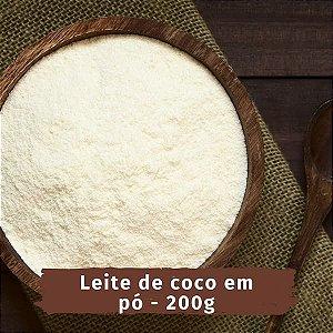 EMPORIO LEITE de COCO VEGANO em pó - 200g - NA PALMA