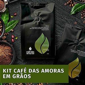 Kit Cafés das Amoras - GRÃOS - 3 PACOTES
