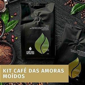 Kit Cafés das Amoras - MOÍDO - 3 PACOTES