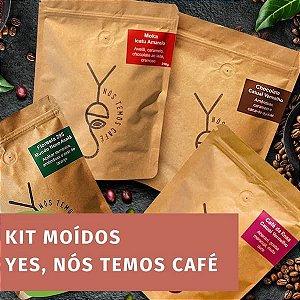 Kit - 4 pacotes -  Yes, Nós Temos Café - MOÍDO 4 pacotes