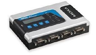 MOXA NPORT 6450 INPUT 12-48 VDC MAX 730 mA (max)