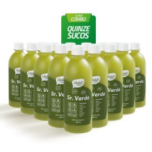 Super Combo 15 sucos - Sr. Verde