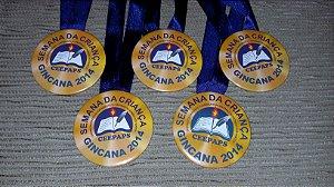 10 medalhas para competições escolares