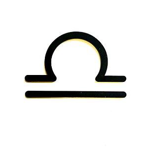 Quadro lettering acrílico Signo Libra