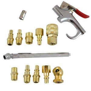 Kit Conjunto Engate Rápido Para Uso Pneumático De 1/4 Pol Com 14 Peças - Sagyma - Spr-007